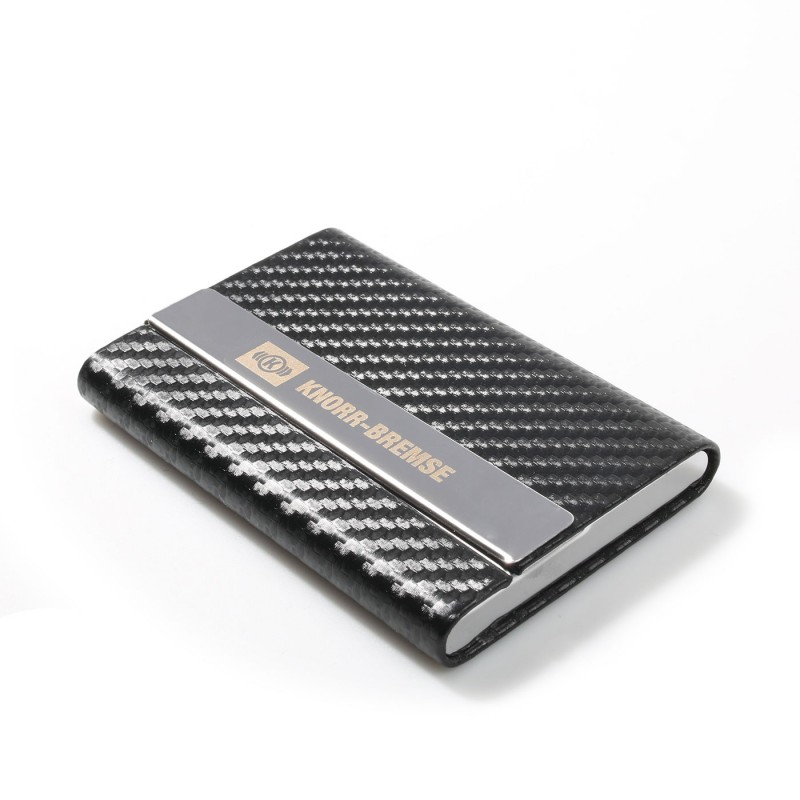 Business Card Case In Carbon Design Promotional Gifts